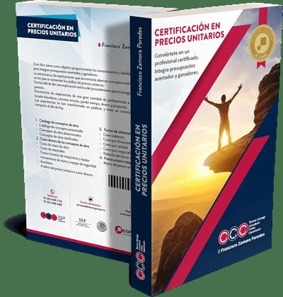 Libro Certificación En Precios Unitarios